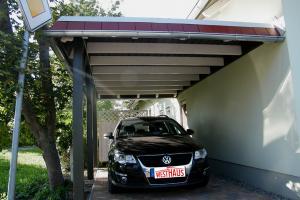 Carport Wandanbau