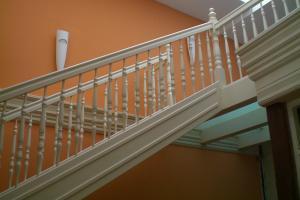 Nostalgische Treppe